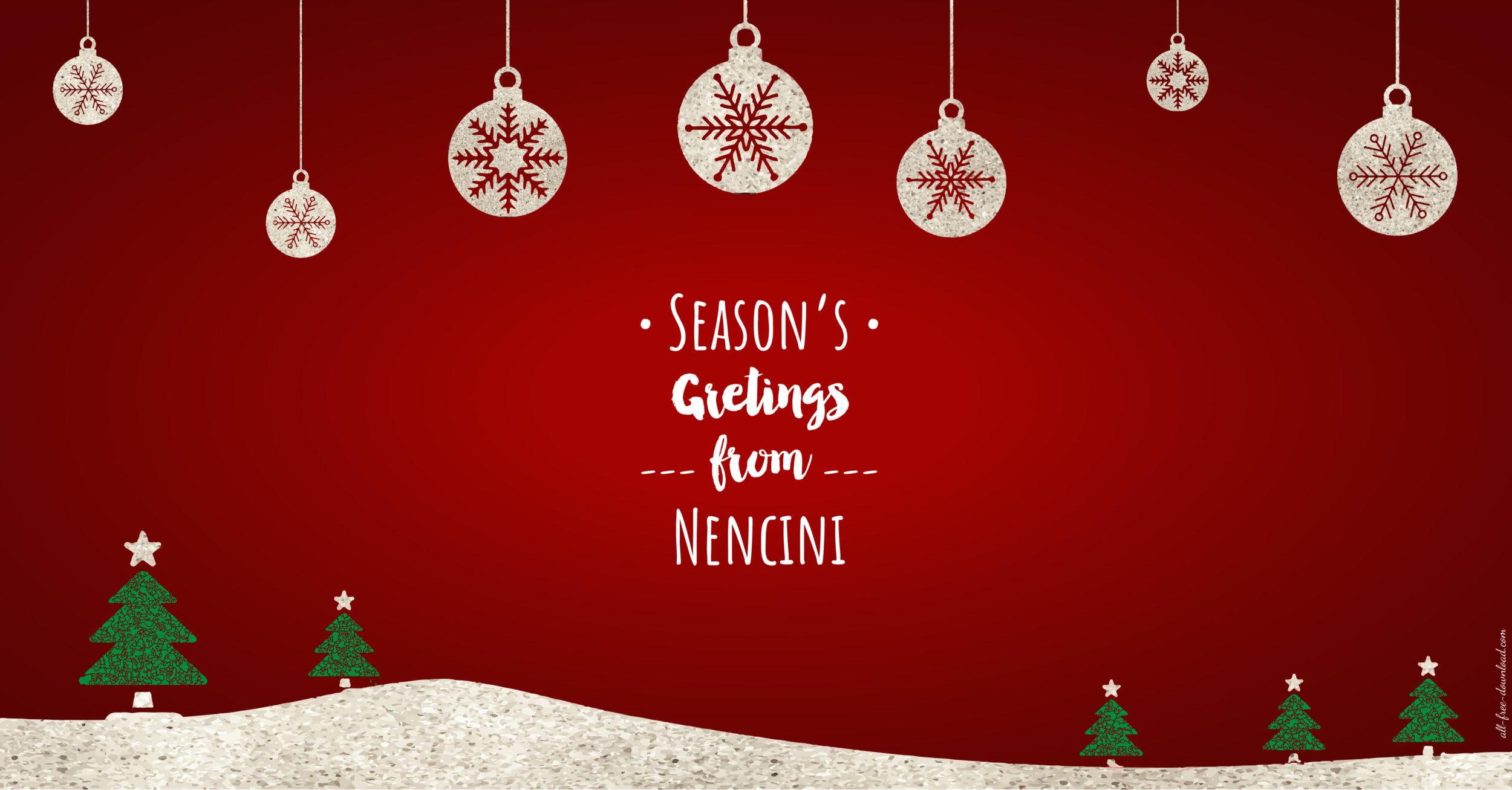 Seasons greetings from nencini nencini srl seasons greetings from nencini m4hsunfo
